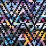 Tribal galaxy seamless pattern. Royalty Free Stock Photos