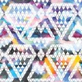 Tribal galaxy seamless pattern. Royalty Free Stock Photography