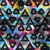 Tribal galaxy seamless pattern. Stock Photography