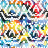 Tribal galaxy seamless pattern. Stock Images
