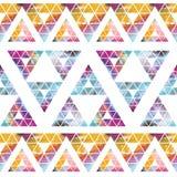 Tribal galaxy seamless pattern. Stock Image