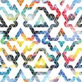 Tribal galaxy seamless pattern. Stock Photos