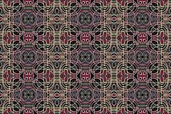 Tribal Geometric Art Pattern Royalty Free Stock Photography