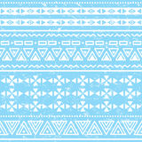 Tribal geometric aztec pattern - grunge, retro style Stock Photos
