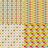 tribal geometric patterns Stock Images