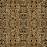 Tribal Geometric Symbols Seamless Pattern Royalty Free Stock Image