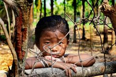 Tribal Girl Royalty Free Stock Photos