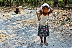 Tribal Girl Stock Photo
