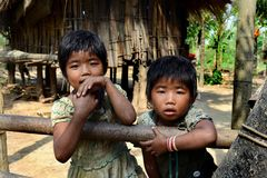 Tribal Girls Stock Image