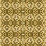 Tribal Golden Seamless Pattern Royalty Free Stock Photos