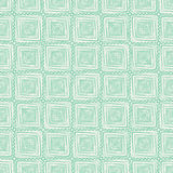 Tribal green pattern with rhombus Royalty Free Stock Photo