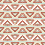 Tribal green pattern Royalty Free Stock Photo