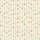 Tribal hand drawn background, ethic pattern. Stock Photo