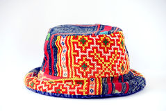 Tribal hat. The isolated of tribal hat stock images