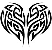 Tribal Heart Stock Photography