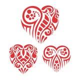 Tribal Heart stock photos