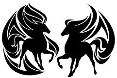 Tribal horse vector Stock Photography
