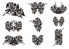 Tribal horse symbols Royalty Free Stock Image