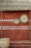 Tribal hut design Royalty Free Stock Image