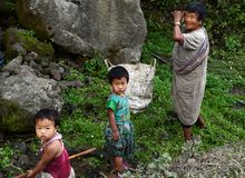 Tribal India Royalty Free Stock Photo