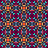 Ethnic tribal ornamental pattern colorful. Tribal indian ethnic seamless design. Festive colorful mandala pattern Royalty Free Stock Photos