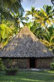 Tribal kanak hut in Ouvea Island,  New Caledonia Royalty Free Stock Images
