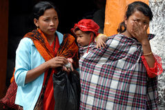 Tribal Khasi women in India Stock Photography