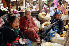 Tribal Khasi women at Northeast India Stock Image