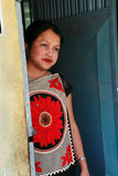 Tribal Khasi women at Northeast India Stock Photo