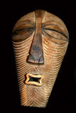 Tribal mask. Wooden carved mask royalty free stock photography