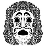 Tribal mask Royalty Free Stock Photo