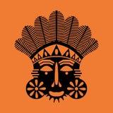 Tribal mask Royalty Free Stock Photo