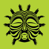 Tribal mask Stock Images