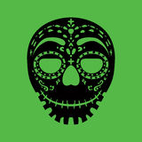 Tribal mask. Design, abstract art Stock Photos