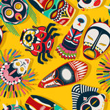 Tribal mask ethnic Stock Images