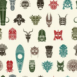 Tribal Mask pattern Royalty Free Stock Photography