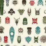 Tribal Mask pattern Royalty Free Stock Photography