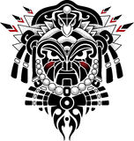 Tribal Mask vector illustration. Ethnic Tribal Mask vector illustration Royalty Free Stock Photos