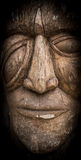 Tribal mask. Of wood from Africa Stock Photos