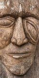 Tribal mask. Of wood from Africa Stock Image