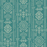 Tribal Mexican vintage ethnic seamless pattern Stock Images