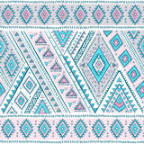 Tribal Mexican vintage ethnic seamless pattern Royalty Free Stock Photo