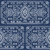 Tribal Mexican vintage ethnic seamless pattern Royalty Free Stock Image