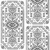 Tribal Mexican vintage ethnic seamless pattern Royalty Free Stock Photography
