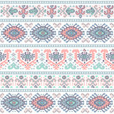 Tribal Mexican vintage ethnic seamless pattern Royalty Free Stock Photos