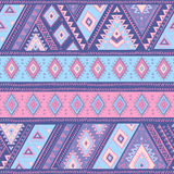 Tribal Mexican vintage ethnic seamless pattern Stock Photo