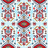 Tribal Mexican vintage ethnic seamless pattern Stock Photography