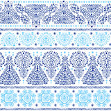 Tribal Mexican vintage ethnic seamless pattern Royalty Free Stock Images