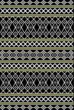 Tribal, modèle ethnique Images stock