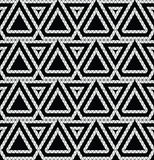 Tribal monochrome lace. Stock Photos